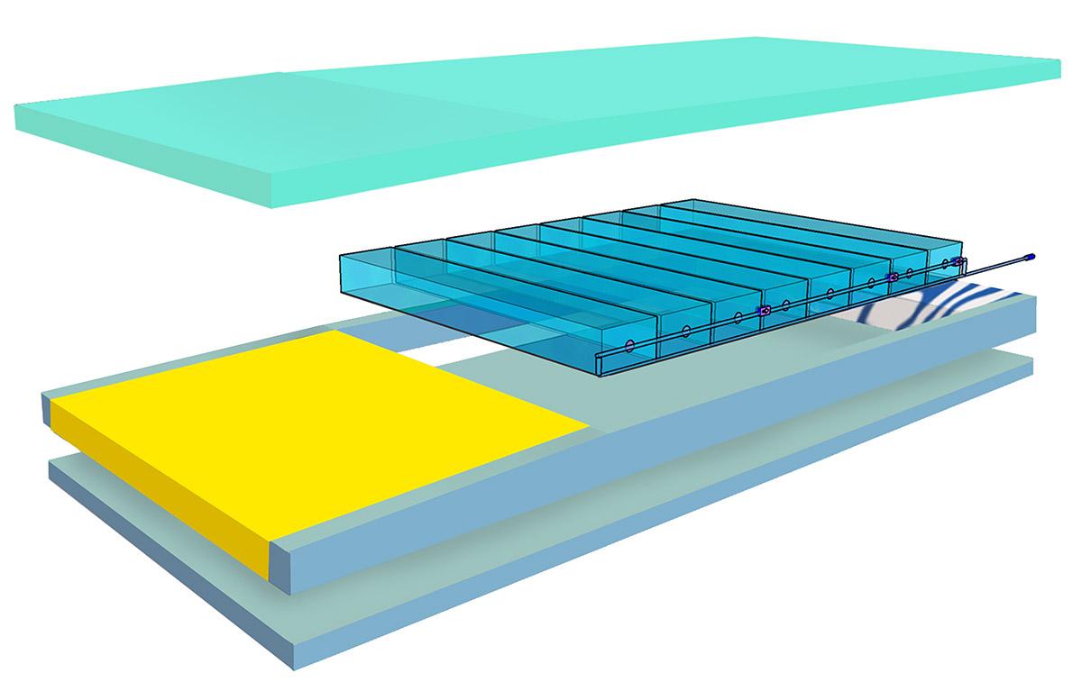 Colchón Híbrido de celdas de Aire - Hyper AIR Hybrid - Estructura