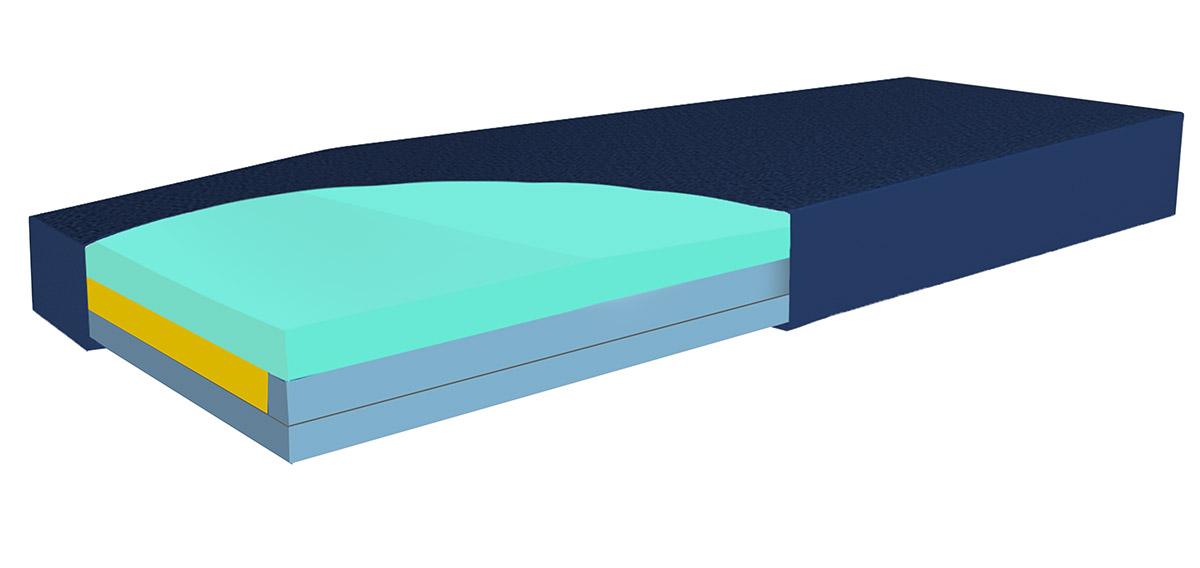 Colchón Híbrido de celdas de Aire - Hyper AIR Hybrid