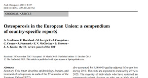 Osteoporosis in the European Union: a compendium of country-specific reports